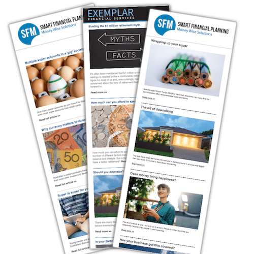 clientcomm newsletters for financial advisers and accountants
