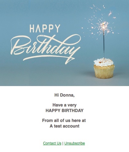 Choose From A Range Of Birthday ECards