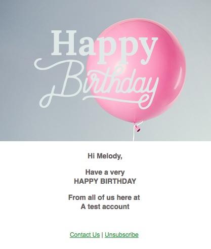 Birthday Ecards Clientcomm Websites Social Media Email Newsletters